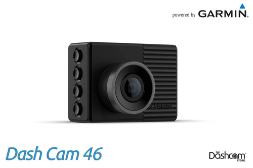 Garmin Dash Cam 46 | 1080p Single Lens Dashcam with 140° Field of View | For Sale at The Dashcam Store