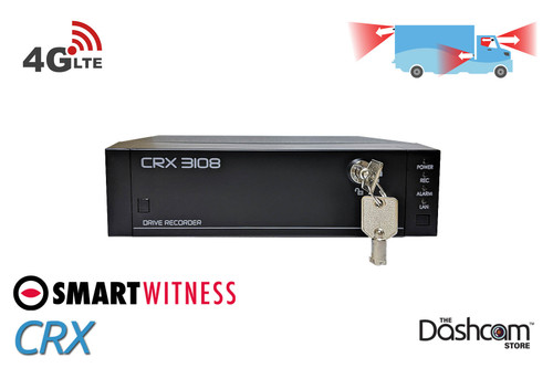 SmartWitness CRX | 8-Channel Digital Video Recording System with 4G Connectivity For Fleets