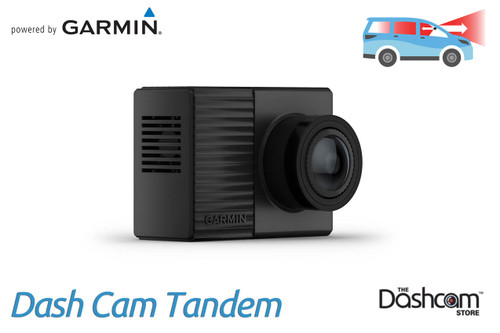 Garmin Dash Cam Tandem for Front + Inside Recording with 360° Field of View | For Sale at The Dashcam Store