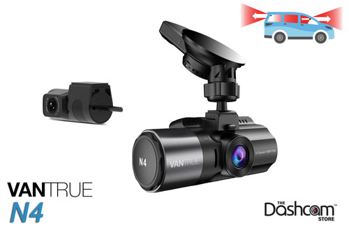 Vantrue N4 Dash Cam | 3-Channel Solution for Front, Inside & Rear | For Sale at The Dashcam Store