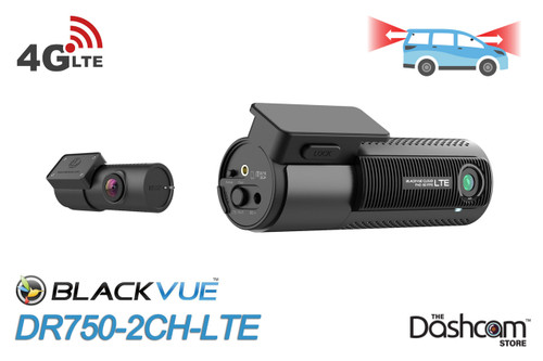 DR750-2CH-LTE BlackVue Dual-Lens Built-In 4G 1080p Dash Cam System | For Sale At The Dashcam Store