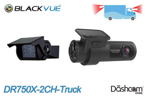 BlackVue DR750X-2CH-Truck Cloud-Ready Dash Cam w/ Waterproof Exterior Rear Camera   Brand New For Sale