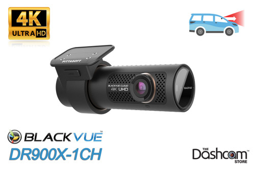 BlackVue DR900X-1CH 4K Dash Cam | Brand New For Sale at The Dashcam Store