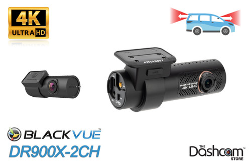 BlackVue DR900X-2CH 4K Dual Lens Dash Cam | Brand New and For Sale at The Dashcam Store