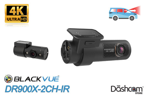 BlackVue DR900X-2CH-IR 4K Front+Interior Dash Cam   Brand New & For Sale at The Dashcam Store