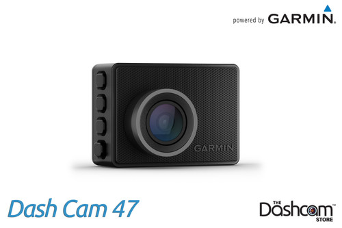 Garmin Dash Cam 47 | 1080p Compact Dashcam with 140° Field of View | For Sale at The Dashcam Store