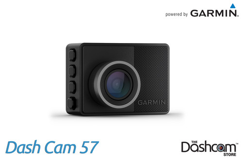 Garmin Dash Cam 57 | 1440p Single Lens Dashcam with 140° Field of View | For Sale at The Dashcam Store