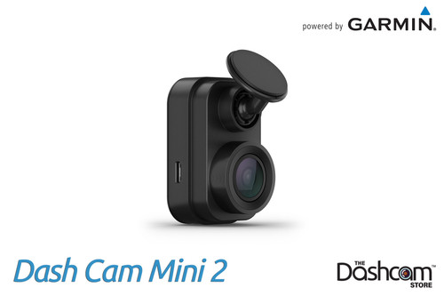 Garmin Dash Cam Mini 2   Tiny 1080p Dashcam with GPS & WiFi   For Sale at The Dashcam Store