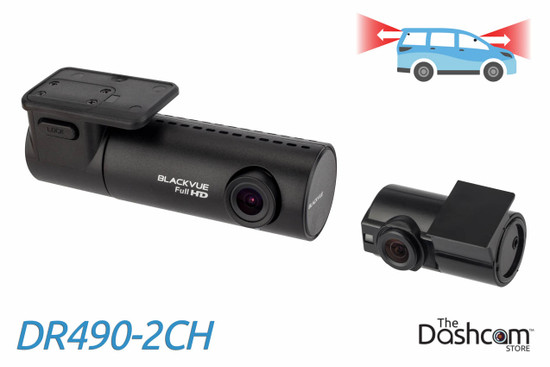 BlackVue DR490-2CH 1080p Full HD dual-lens dual-1080p dash cam   For Front and Rear Recording