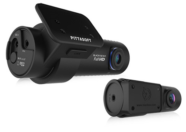 BlackVue DR650GW-2CH 1080p Full HD dual lens dash cam with GPS, motion detection... possibly the best dashcam!