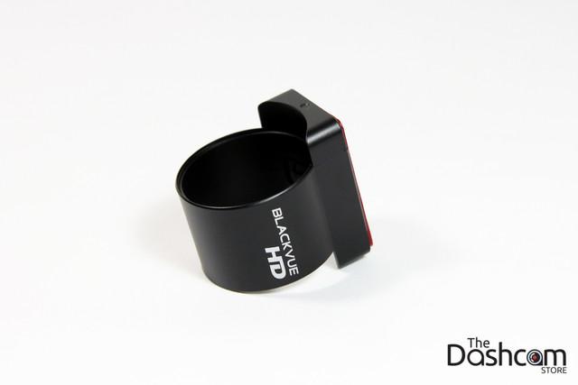 BlackVue DR650GW-2CH dashcam rear camera windshield mount.