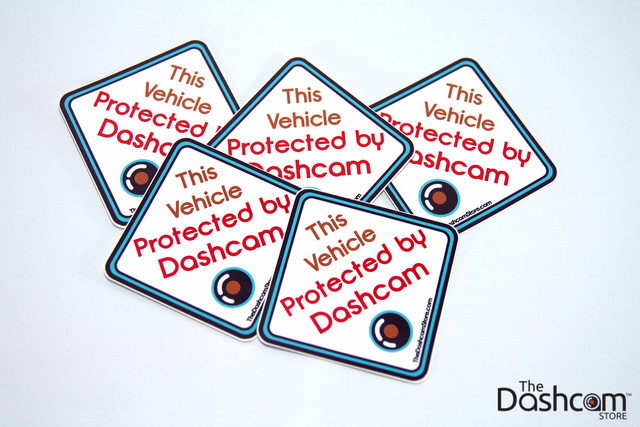 Exclusive Sticker | This Vehicle Protected By Dashcam