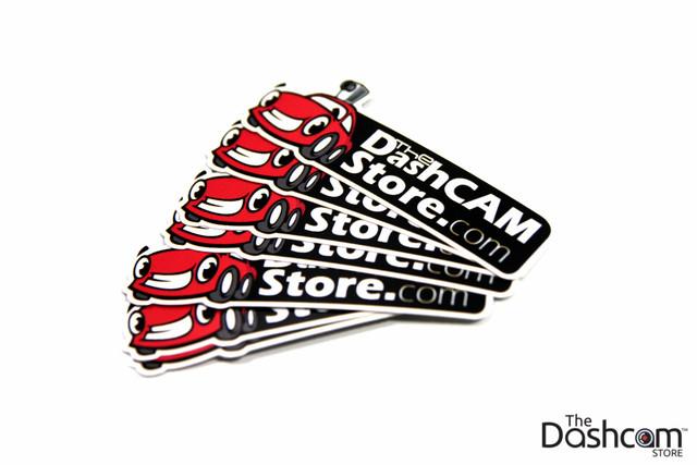 Sticker - The Dashcam Store™ Logo - Copyright © 2013 The Dashcam Store™