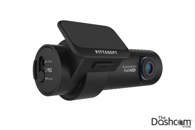 New BlackVue DR650GW-1CH 1080p Full HD single lens dash cam with WiFi, GPS, motion detection, and more