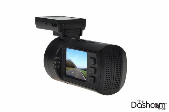 Mini0806 1296p Ultra HD Dashcam with GPS and Dual microSD card slots