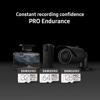 Samsung PRO Class 10 Ultra-fast Micro SD Memory Card for Dashcams | Options