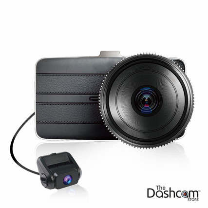 KDLinks DX2 Dual Lens Dash Cam with Full HD 1080p front and 720p rear video