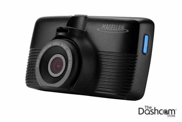 Magellan MiVue 420 Super HD 1296p Single Lens Dash Cam | Camera View Angled