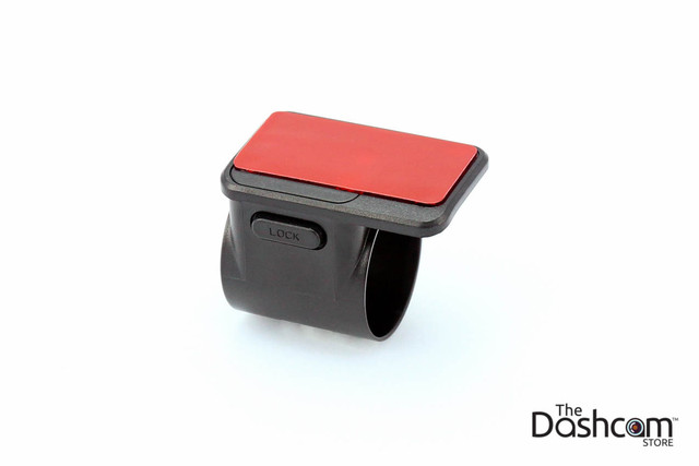 Brand new adhesive windshield mount bracket for BlackVue DR430-2CH, DR450-1CH, DR470-2CH or DR590 front dashcam   Adhesive Attached Top View