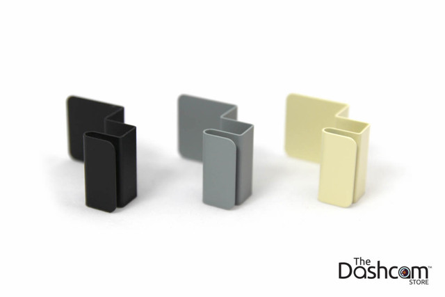 Custom Folded Metal Mounting Bracket | Available in Black, Grey, and Beige/Tan