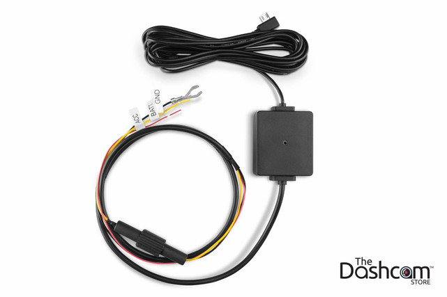 Garmin Parking Mode Kit | MicroUSB Direct-Wire Power Cable for 45, 55, 65W or Speak Plus Dashcams