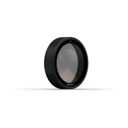 Slip-On Polarizing Filter for Garmin Dashcam 45/55/46/56   Angled View