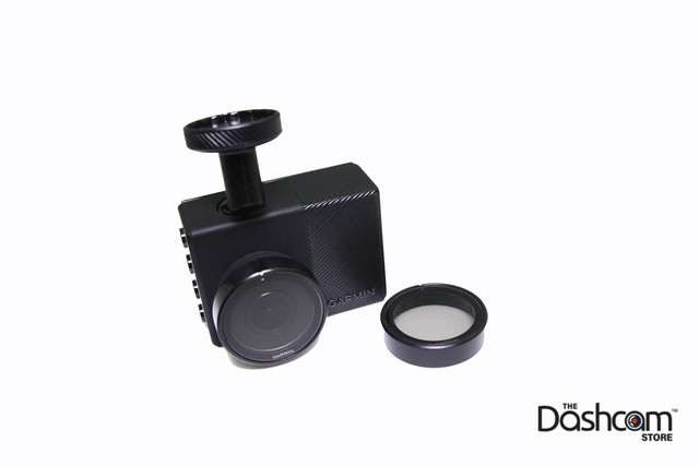 Slip-On Polarizing Filter for Garmin Dashcam 45/55/46/56 | Filter Uninstalled