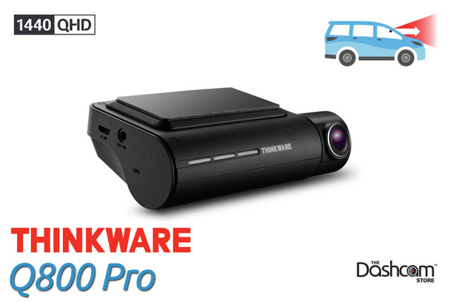 Thinkware Q800 Pro Dashcam | Quad HD 1440p Front-Facing Dash Cam