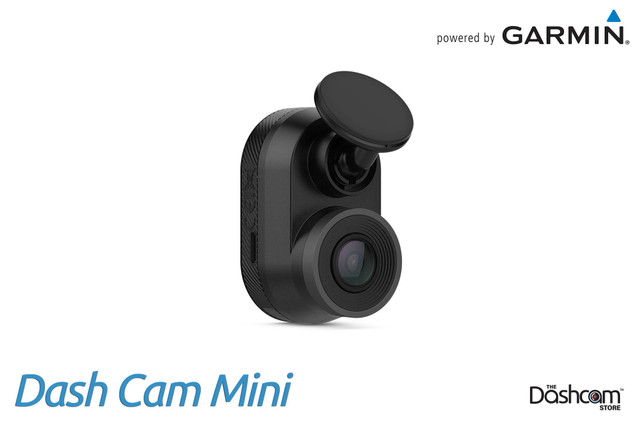 Garmin Dash Cam Mini | 1080p Single Lens Dashcam with GPS & WiFi | For Sale at The Dashcam Store