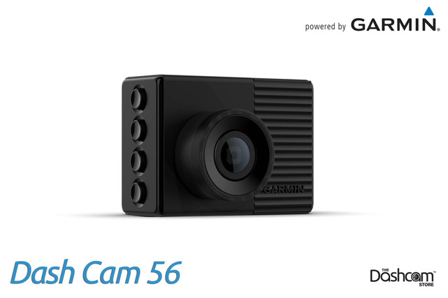 Garmin Dash Cam 56 | 1440p Single Lens Dashcam with 140° Field of View | For Sale at The Dashcam Store