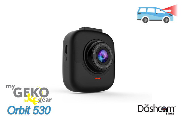 GEKO Orbit 530 Single Lens 1296p SuperHD Dashcam | For Sale at The Dashcam Store