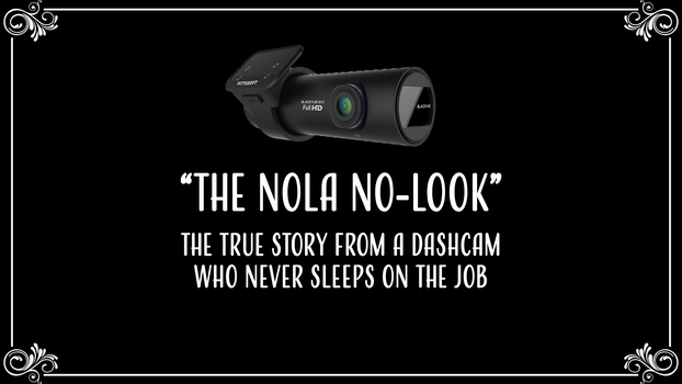 The NOLA No-Look: Near Miss with Pedestrian