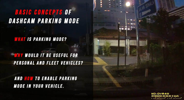 Dashcams and Parking Mode: All You Need to Know