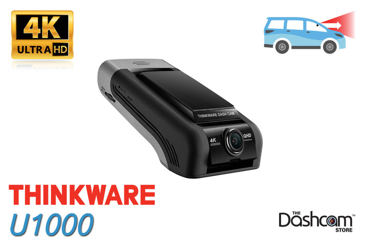 Thinkware U1000 Forward-Facing 4K Dash Cam | Sample Footage Blog