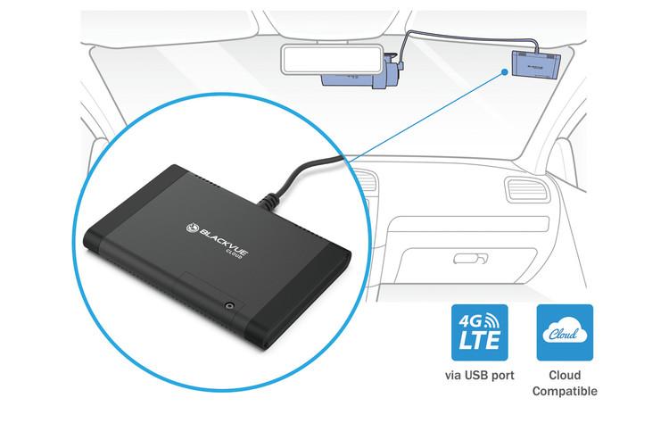 BlackVue X-Series CM100LTE Module for Plug-In Cloud Connectivity