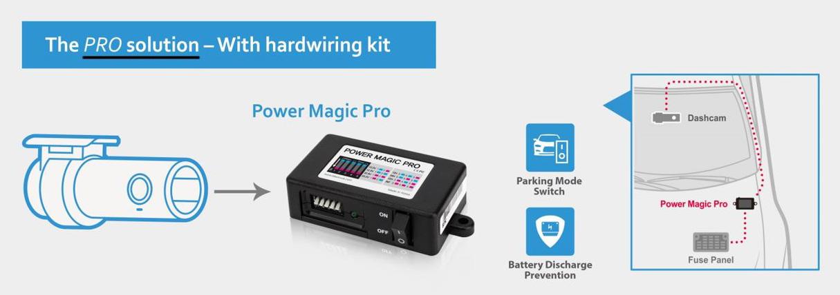 BlackVue Power Magic PRO Battery Discharge Prevention Module