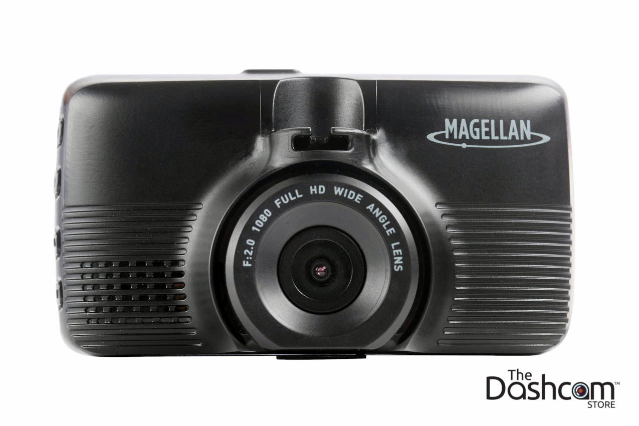 magellan mivue 480d two-channel (dual lens) dash cam for front and rear