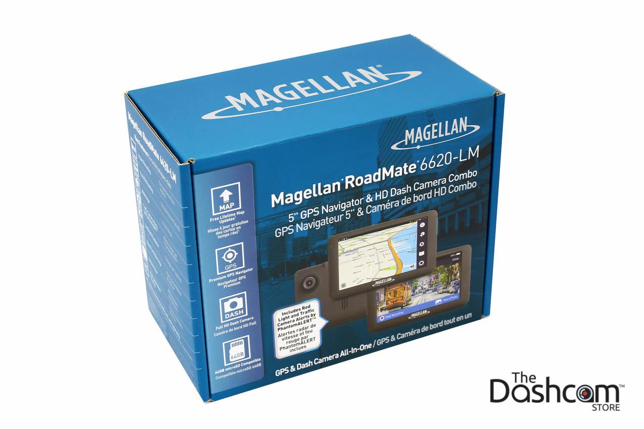Magellan RoadMate 6620-LM GPS Navigation + Single Lens Dashcam Combo