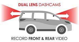 Front + Rear Dashcams