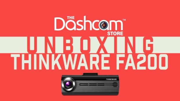 Thinkware FA200 Dashcam Unboxing and Sample Footage