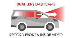 Front + Inside Dashcams
