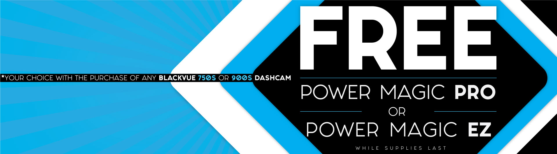 Free Power Magic Pro or EZ With Any DR750S or 900S Dashcam