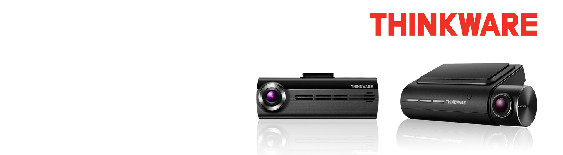 Thinkware F800 Pro and FA200 Dashcams For Sale Banner