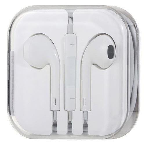 Mobile HD Earbuds - White