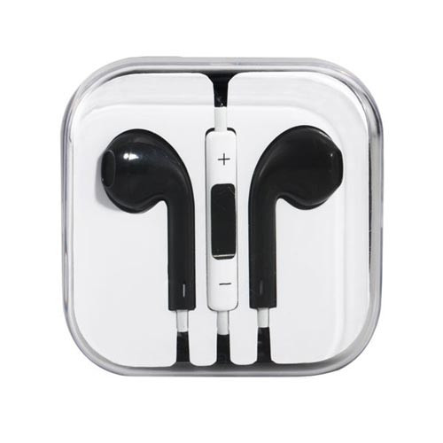 Mobile HD Earbuds - Black