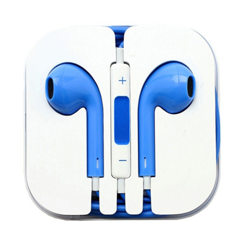 Mobile HD Earbuds - Blue