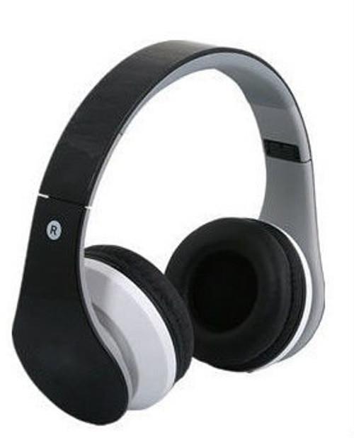 Wireless/Wired HD Bluetooth Headphones - Black