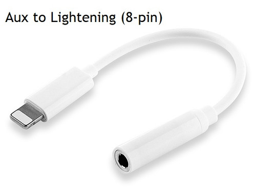 Aux to lightening (8 pin)