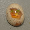 Mexican Fire Opal Gemstone Cabochon Stone #4-2