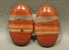 Red Jasper Matched Pairs Earring Making Supplies Cabochons #19